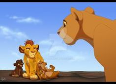 I'm not saying I believe Simba and Nala got all these cubs. Though I kinda like the thought of this big happy family, hahaha. I just wanted to gather them all, in one picture. From left: Fluffy, Ko. Kiara Lion King, The Lion King 1994, Lion King 2, Simba And Nala, Lion King Movie, Kiara And Kovu, Lion King Tree, Lion King Story, Lion King Fan Art