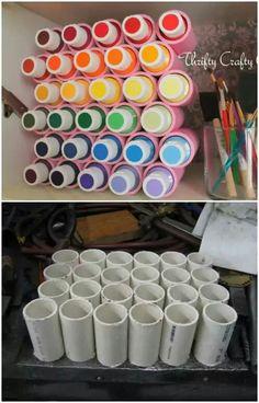 Organizador de pigmentos.