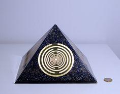 Orgone orgonite® Pyramid All Powerful by OrgoniteCreations on Etsy