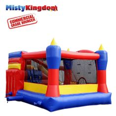 Misty Kingdom XL Commercial Combo by Blast Zone - Bounce Houses Now Commercial Water Slides, Bounce Houses, Things That Bounce, All In One, Cool Stuff, Inflatable Bouncers, Bouncy Castle