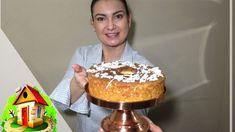 Receita de Bolo de Mandioca   Culinária em Casa Chocolate, Tiramisu, Birthday Candles, Ethnic Recipes, Youtube, Cassava Cake, Illustrated Recipe, Carrots, Cake Recipes