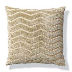 Zig Zag Plush Decorative Pillow
