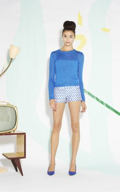 CROPPED SHORT WITH CUFF