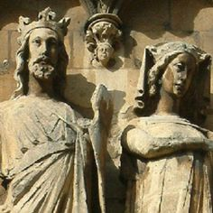Edward I and Leonora de Castilla y León were present for the opening of the new east end of Lincoln Cathedral. Their statues are located on the south wall of the east end (21 ggp).