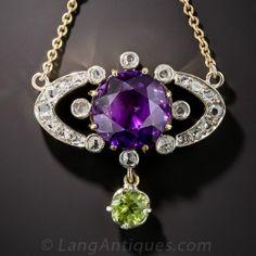 Edwardian Suffragette Necklace