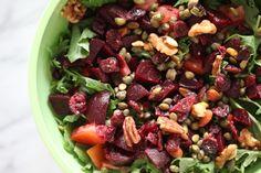 The Actor's Diet — lynn chen Mix Salad, Salad Dressing, Vegan Vegetarian, Paleo, Small Mason Jars, White Wine Vinegar, Vinaigrette, Acai Bowl, Garlic