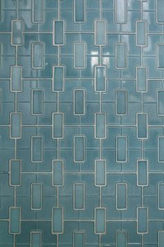 Amazing geometric blue tile - perfect for kitchen tile backsplash!