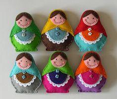 Lembrancinhas de feltro | Macetes de Mãe