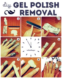 Forget The Foil And Cotton Ball Method This Is The Easiest Way To Remove Gel Nails Gel Nail