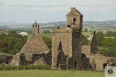 Visit a 13th Century Abbey with a church, cloisters and even a dovecot!  #Scotland #History