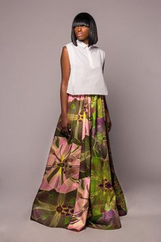 NEW The Ashley Maxi Skirt custom length/read by DemestiksNewYork
