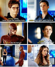 Barry protecting Caitlin #Snowbarry #TheFash
