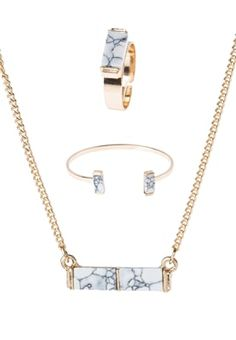 SET - Ketting - white