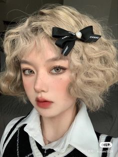 Cute Makeup, Makeup Looks, Japonese Girl, Baddie Makeup, Uzzlang Girl, Asian Makeup, Short Blonde, Aesthetic Hair, Pretty Face