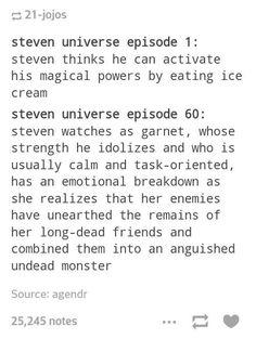 Steven Universe Progression