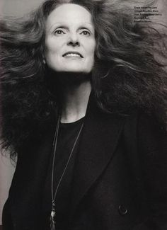 Grace Coddington  Vogue Magazine Style Editor. She was so cool in that movie The December Issue.