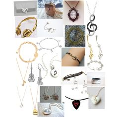 """""""Music jewelry"""" by kris-8 on Polyvore"""