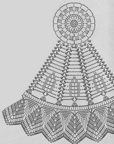 Lace round crochet chart unique sharp edging no pineapples - approx. 20 inches US hook size size 10 cotton crochet thread Crochet Table Topper, Crochet Tablecloth Pattern, Free Crochet Doily Patterns, Crochet Doily Diagram, Crochet Mandala, Crochet Art, Crochet Round, Crochet Home, Thread Crochet