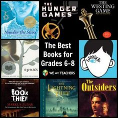 WeAreTeachers recently polled over 200 teachers about the best books in their classroom libraries, from their favorite read-alouds and fiction books to the top science, humor and poetry. Here's what teachers of grades 6-8 had to say