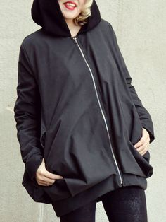 Long Sleeve Plain Acrylic Casual Hand Made Coat - StyleWe.com