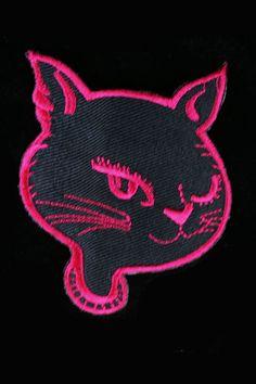Patch -Cat Lady Kangasmerkki