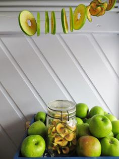 E Strea Chikitu: Gedroogde appeltjes