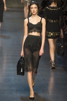 Vogue.com.tr – Defile – 2014 İlkbahar/Yaz - Dolce & Gabbana - Milano, Vogue Türkiye - 41