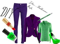 """Joker... My Costume Choice"" by courtneyfriesen on Polyvore"