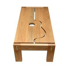 Guitar inspired coffee table