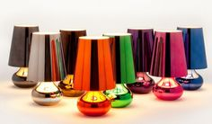 "Cindy Light by Kartell in bright and vivid colors! 16.5"" high"
