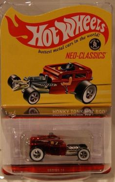 2013 Hot Wheels HWC/RLC Honky Tonk Hot Rod Only 4500 Made Larry Wood
