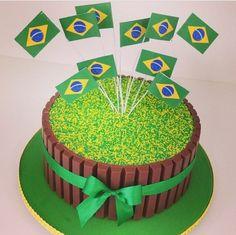 Bolo Copa Do Mundo Brasil 2014
