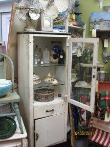 Vintage dental cabinet