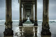 Original art for sale at UGallery.com | Scripps Pier by Ronald Erskine | : $25 | photography | http://www.ugallery.com/photography-scripps-pier