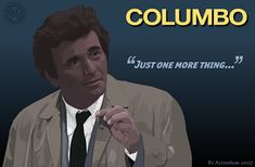 """""""Just one more thing..."""" - My Love of Columbo and Peter Falk - Don't Stop Living"""