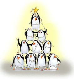 Christmas = Penguin Stacking!