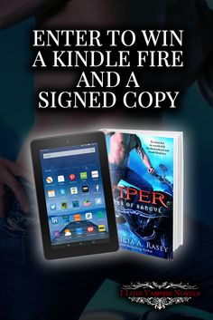 Win a Kindle Fire, a Necklace & Signed Copies from Bestselling Author Patricia Rasey