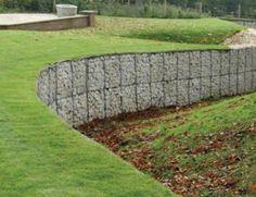 gabions examples | Gabion Retaining Wall Blocks Simple Low Cost Stone Retaining…