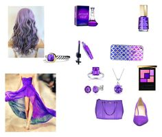 """Purple prom"" by insunflower ❤ liked on Polyvore featuring Casetify, Mavala, Manic Panic, Yves Saint Laurent, Bling Jewelry, Kobelli, Belk & Co., David Yurman, Nine West and Kate Spade"