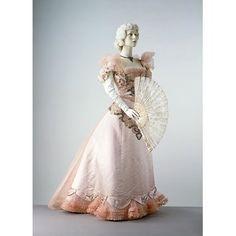 Evening dress       ca. 1897 (designed)     Charles Frederick Worth