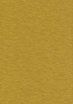 Molleton envers doudou moutarde
