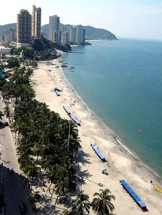 El Rodadero Beach (Santa Marta, Colombia) - Recommended by one of my students
