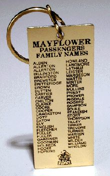 Mayflower Passenger List, is your name there?