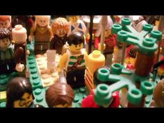 LEGO - Jesus Feeds the 5000 - YouTube                                                                                                                                                     More