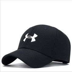 efc139a4af5 2018 Under Armour UA Blitzing II Stretch Fit Hat  73 Men s Baseball Cap  black