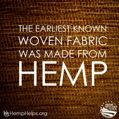Help spread the Hemp movement by educating people about it's rich history and it's potential for the future. Please help us spread the movement by sharing educational Hemp information to friends and family. Thank you