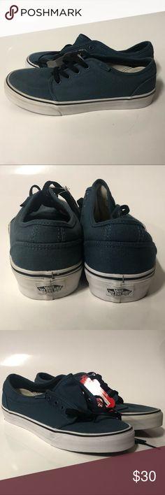 9cc45d76963c52 Vans 106 Vulcanized size 8 men s women s Deep ocean blue Vans 106  Vulcanized The left pair was a Display pair Vans Shoes Sneakers