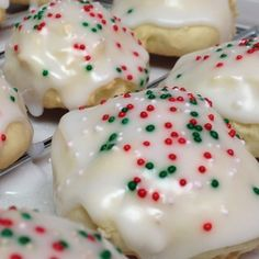 Anginetti (Italian Lemon Drop Cookies) ~These cookies, which name varies widely have come to us from Italy. These cookies with a tender crumb and lemon flavor will melt in your mouth instantly!