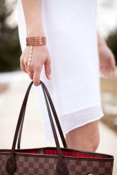 Cuff bracelet + ring