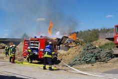 Brand in Holzschnitzelanlage | 16.04.2014,